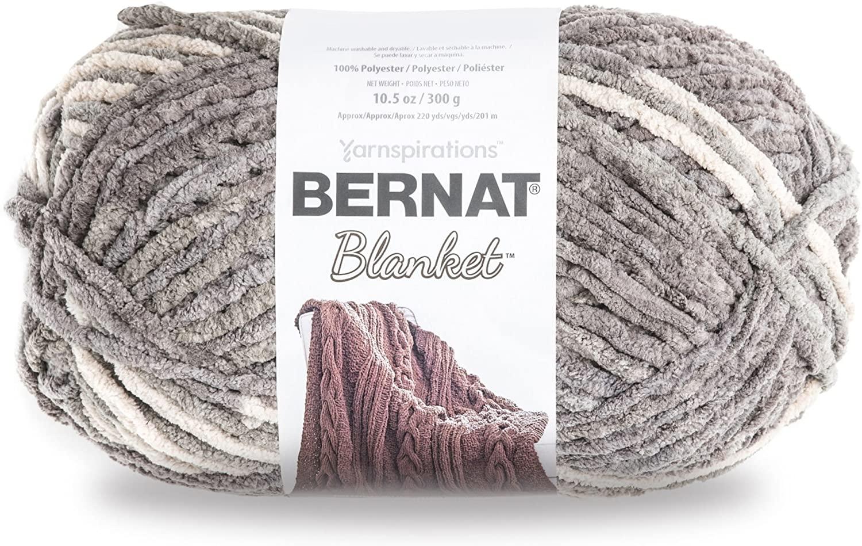 Bernat Blanket Yarn Silver Steel