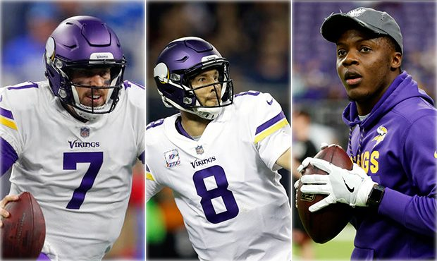 Image result for vikings qb