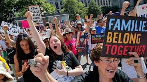 Image result for immigrants protesting in oakland
