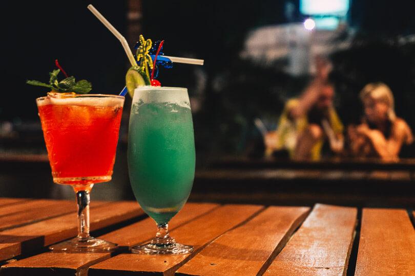 Vodka cocktails.