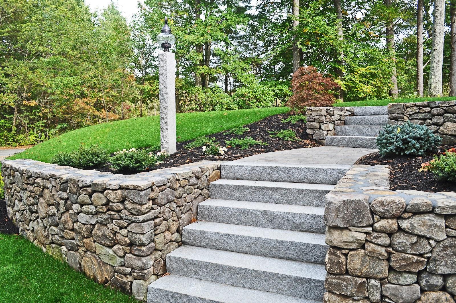 Photo of Woodbury Gray Granite Steps
