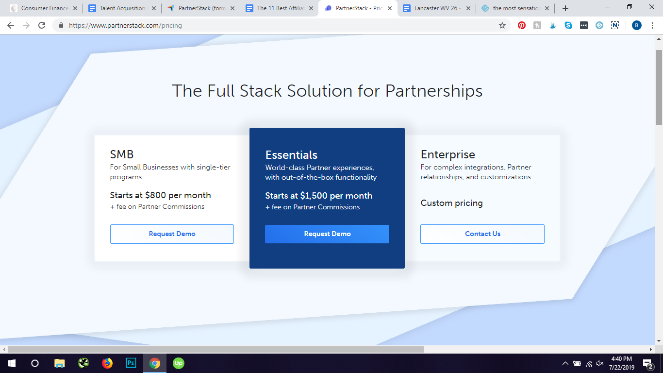 partnerstack pricing