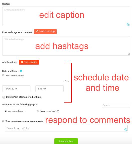 AiSchedul schedule posts