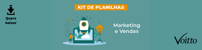 Kit de Planilhas de Marketing e Vendas