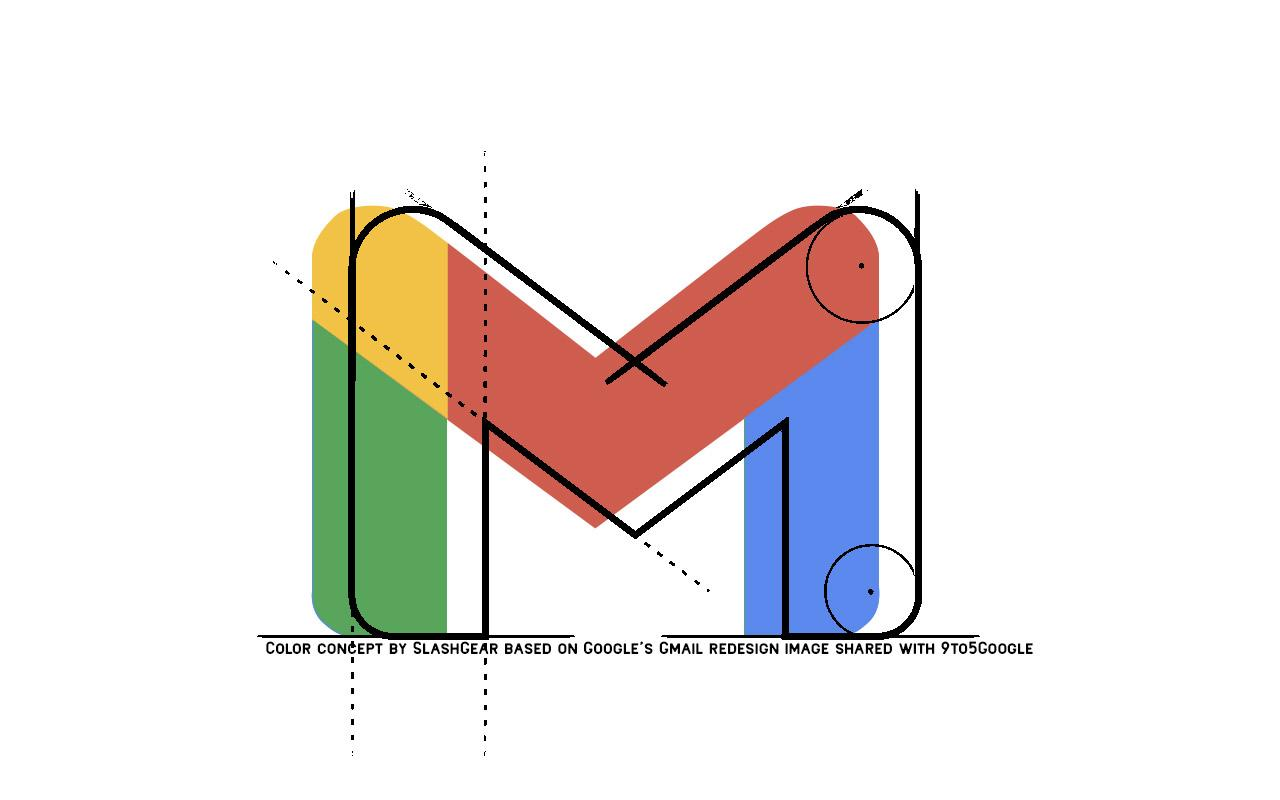 Image result for new gmail logo
