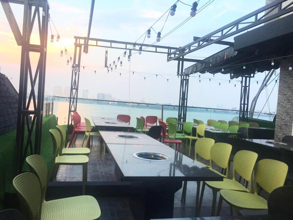 Ăn Buffet  lẩu nướng view hồ Tây cực sang chảnh với giá chỉ 269k tại nhà hàng Ohcha - Ảnh 1