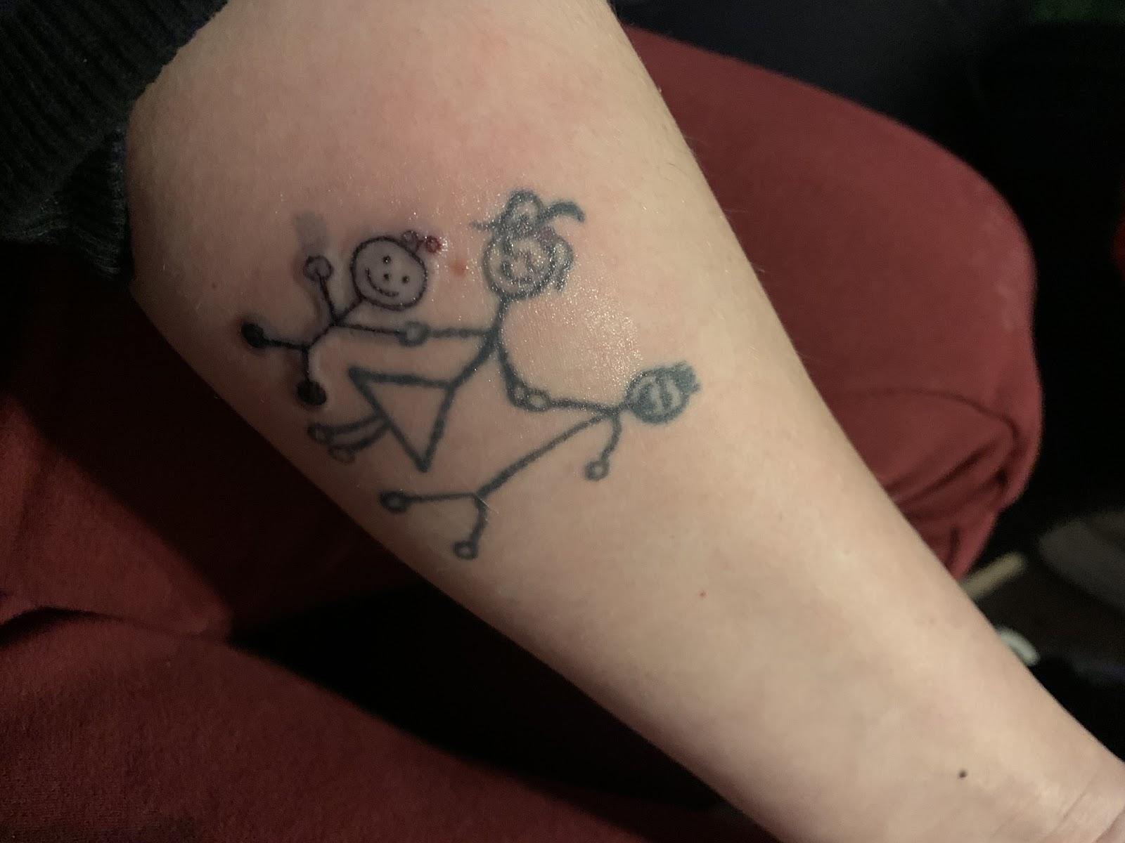 Tattoo pino druk