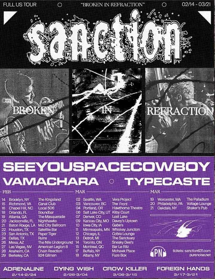 """Sanction """"Full U.S. Tour 2020"""""""