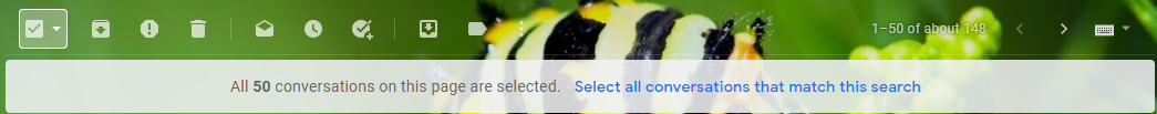 One-click selection button