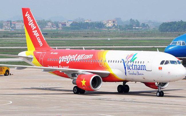 Máy bay của Vietjet Air