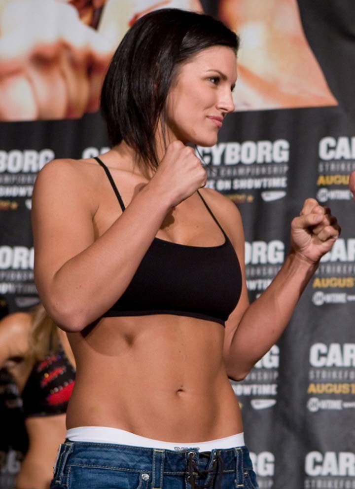 Gina Carano (MMA Fighter)
