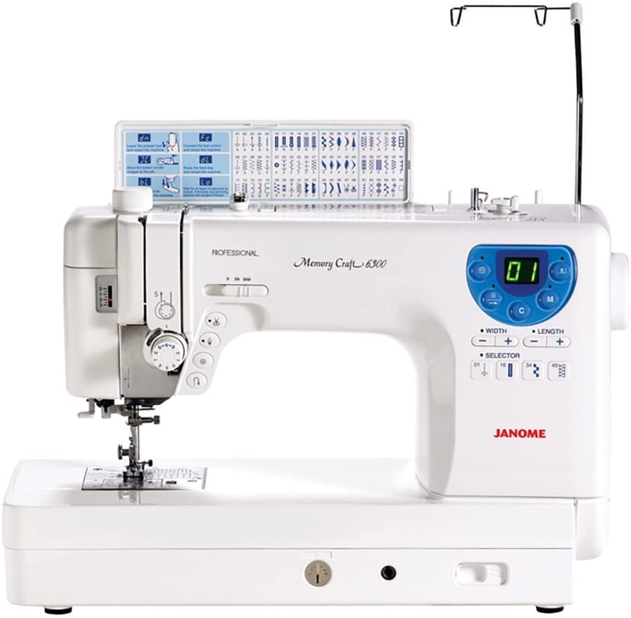 Janome MC-6300P Heavy-Duty Computerized Quilting Sewing Machine