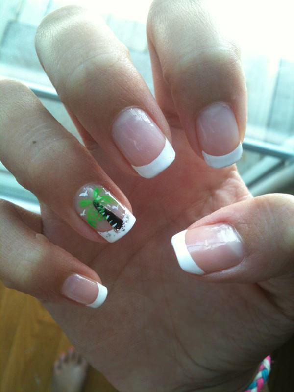 cute nail designs creem (30)