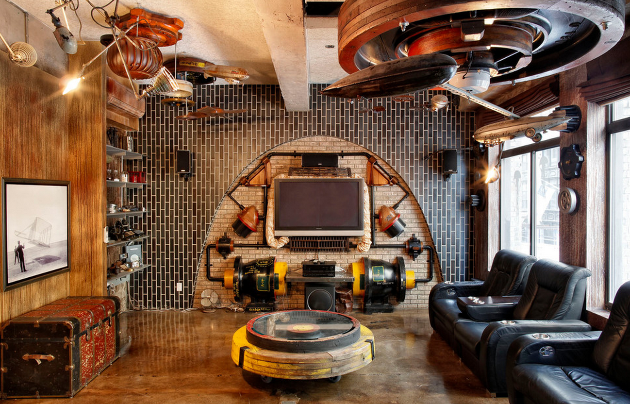 Decorating your space with steampunk style hotpads blog for Cool interior design blogs