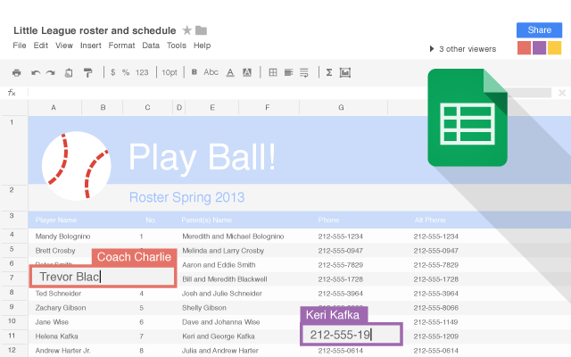 Google Sheets Chrome Web Store – Google Worksheet