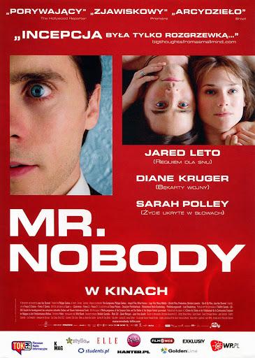 Przód ulotki filmu 'Mr. Nobody'