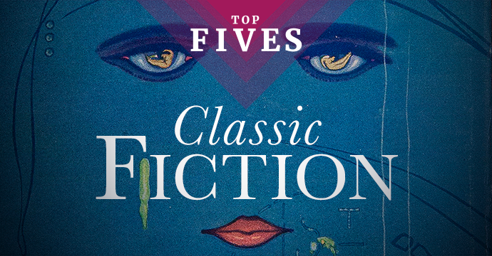 top five classic fiction books