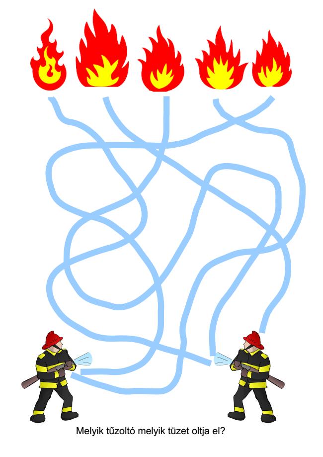 nyomtatható feladatlap tűz