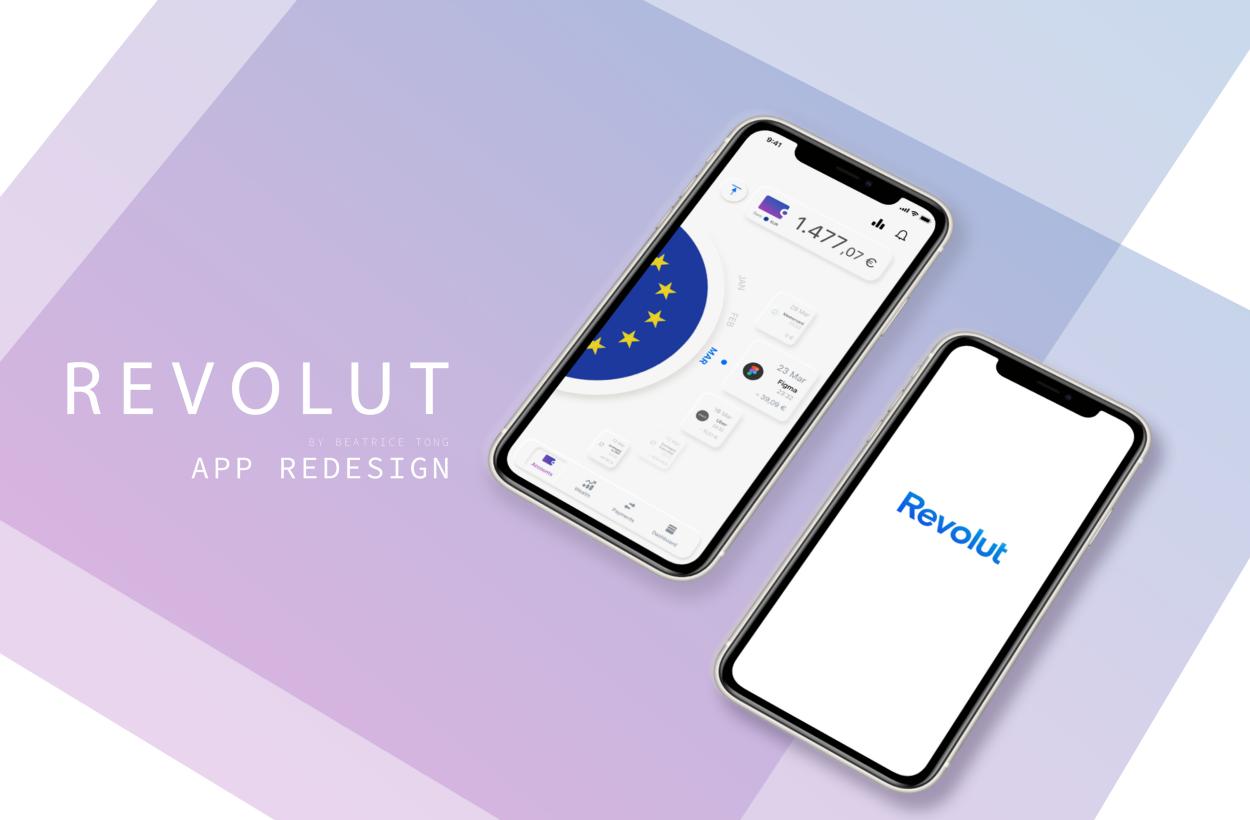 User Interface Design Trends: Revolut App Design