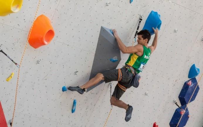 Cesar Grosso, atleta brasileiro de escalada.