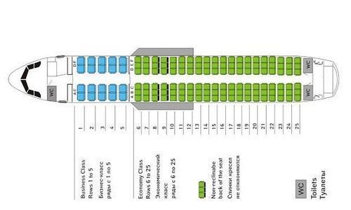 Аэробус А350 (Airbus A350) схема салона