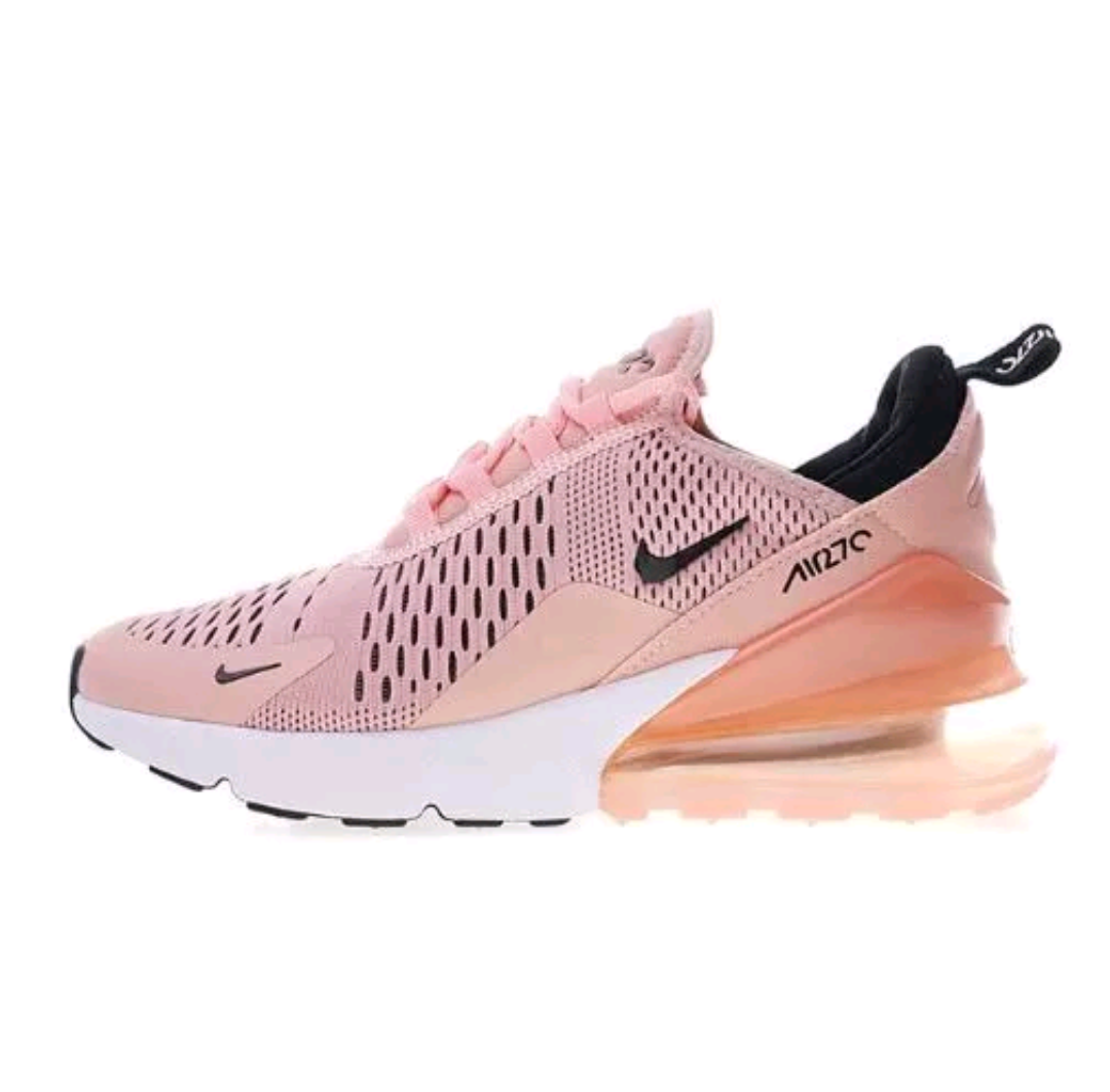 3e463f3b448 ... italy new womens nike air max 270 coral stardust pink 5d00f 8163a