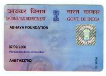 PAN Card in India