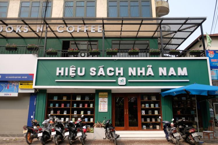 cửa hàng sách nhã nam