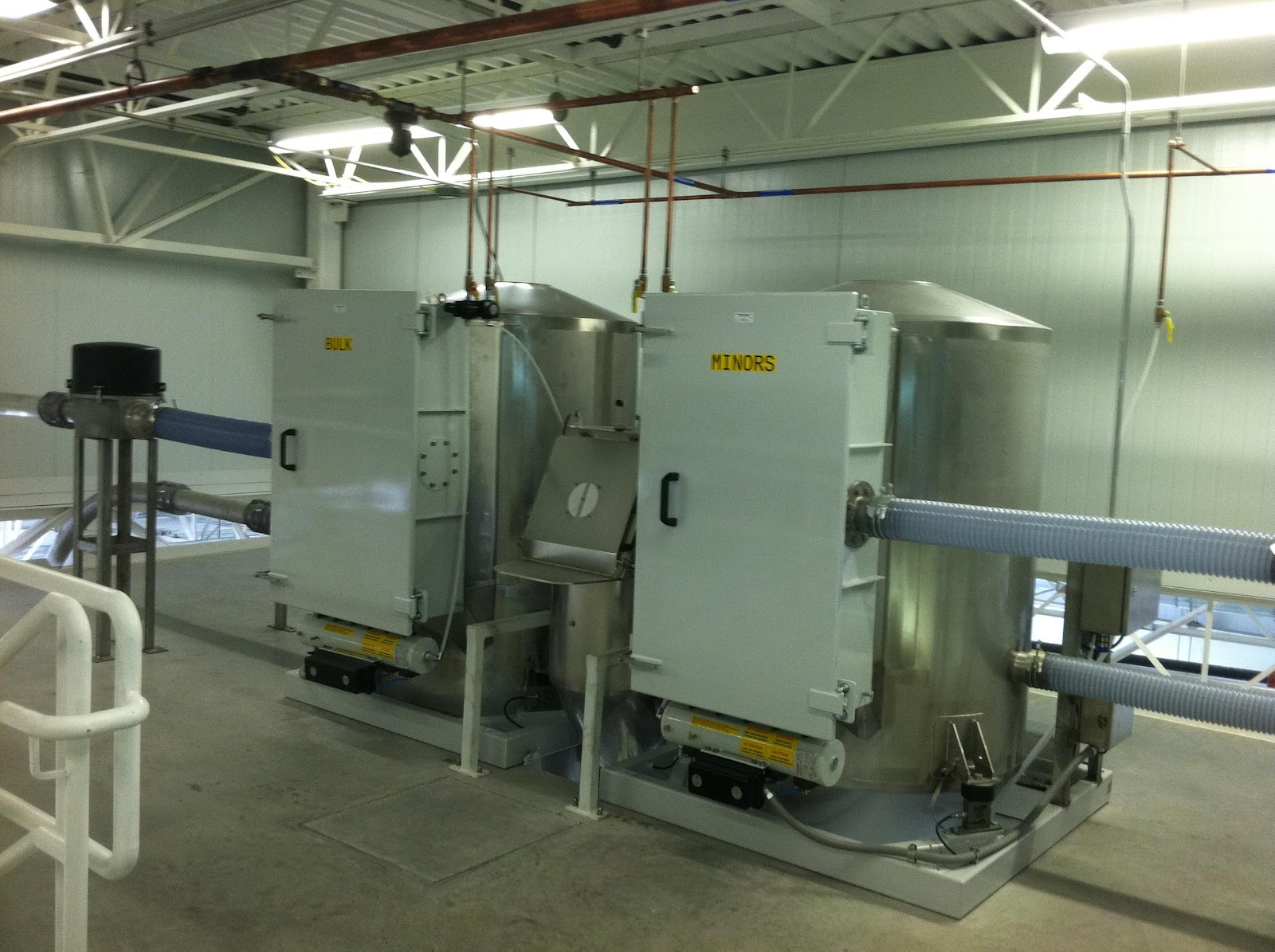 bulk and minor scale hopper system