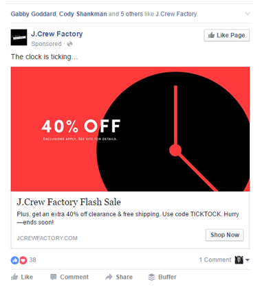 promoting an online store in Kenya using facebook ads