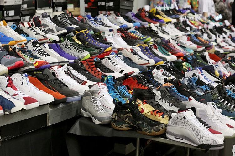 Lấy sỉ giày dép tại chợ đầu mối