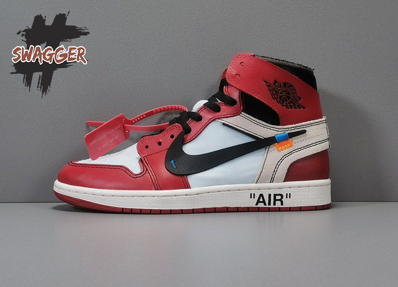 Giày Nike Air Jordan 1 Chicago Off White Pk God Factory