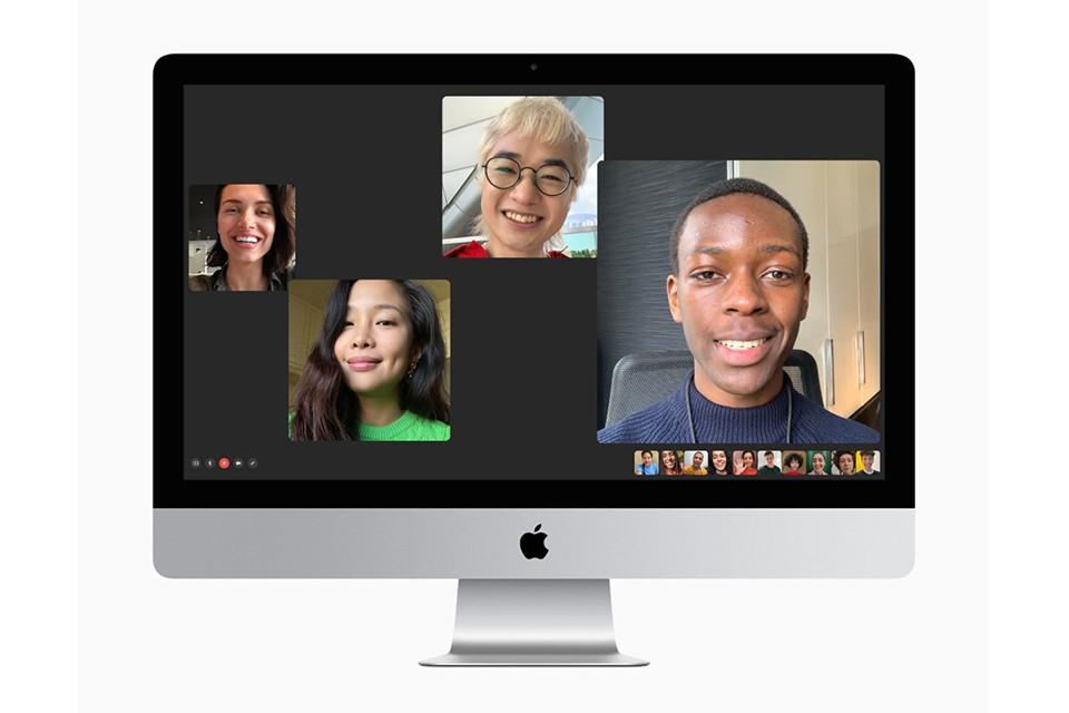 gọi video iMac 27 inch 2020 Retina 5K