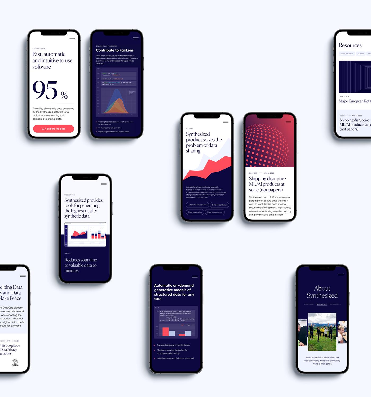 branding  data visualization development Interaction design  motion design Technology user experience Web Design  Web marketing Website