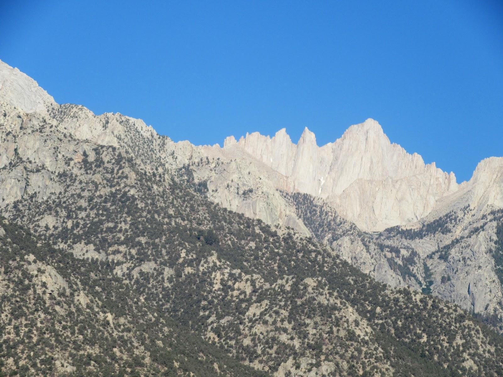 spires of mt whitney summit