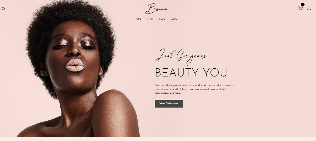 Beaux - Cosmetic Woocommerce theme