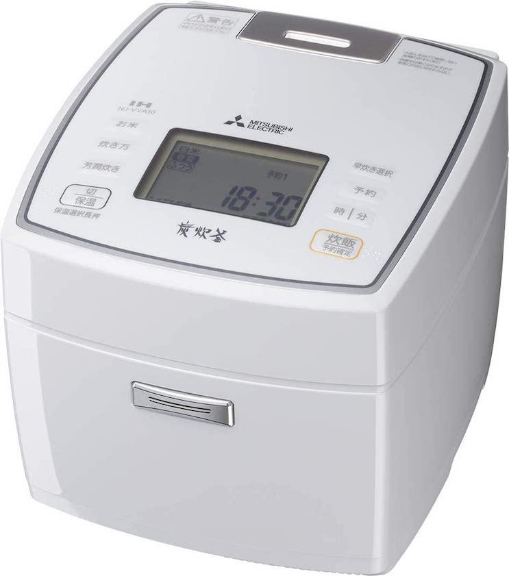 三菱電機 IH炊飯器  NJ-VVA10-W