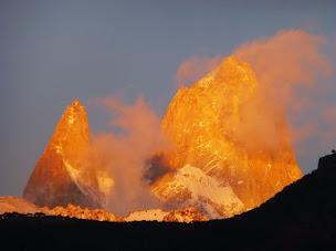 La Patagonia del hielo y el fuego. El Calafate y El Chaltén (Argentina)