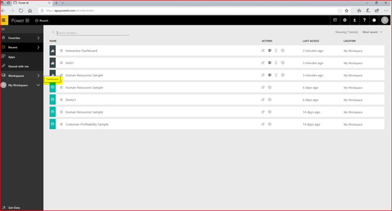 Interactive Dashboard In Microsoft Power BI 67