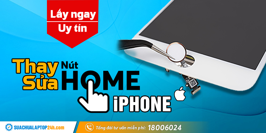 thay nút home iPhone