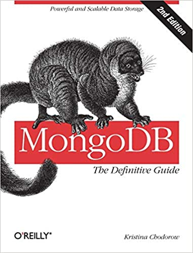 MongoDB: The Definitive Guide book cover