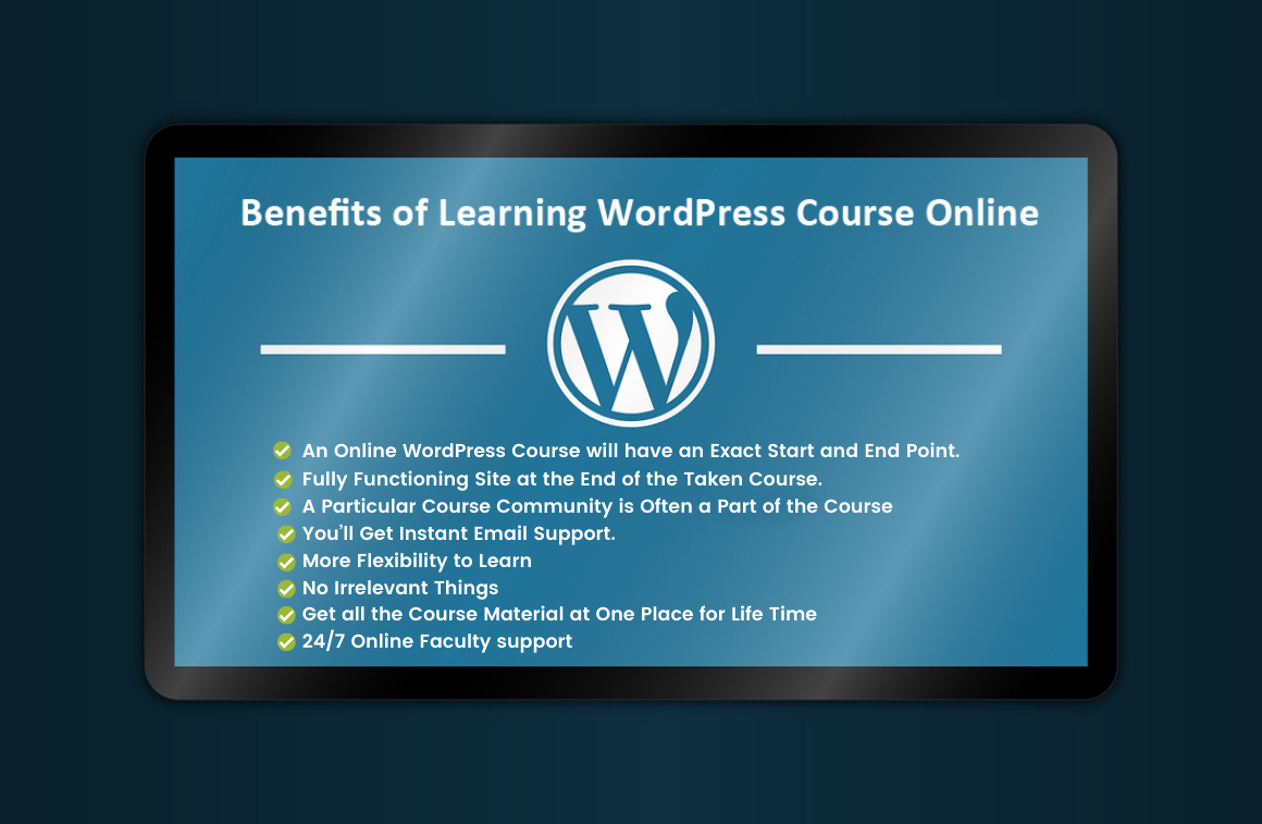 How Learning WordPress Course Online is Beneficia