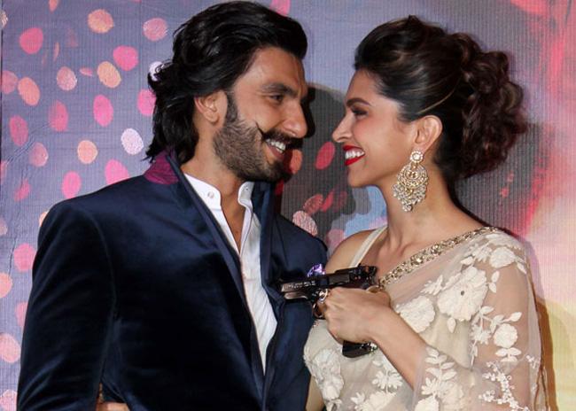 Romantic Duo Ranveer Singh n Deepika Padukone