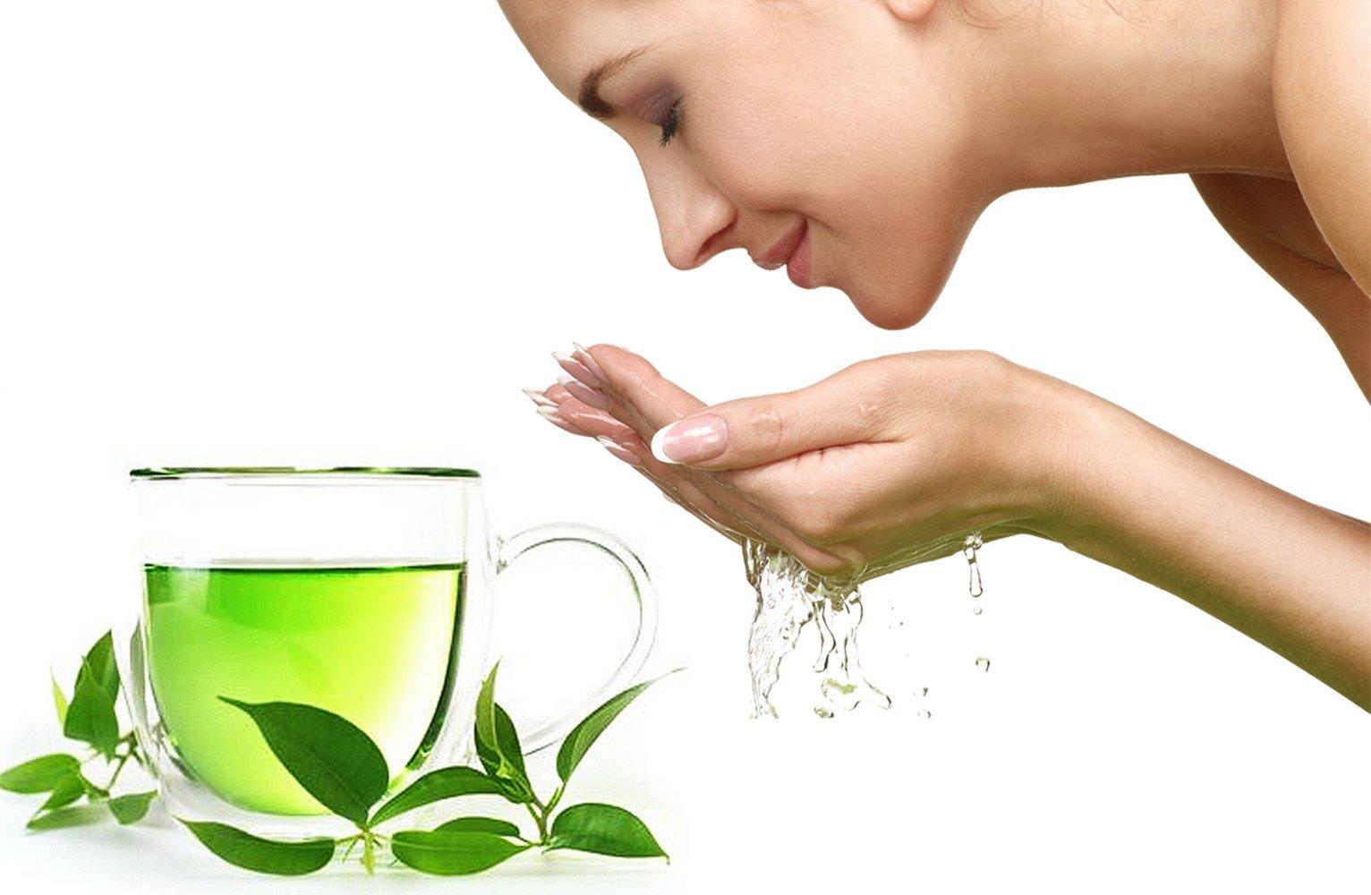 Cách chống lão hóa da tự nhiên bằng trà xanh