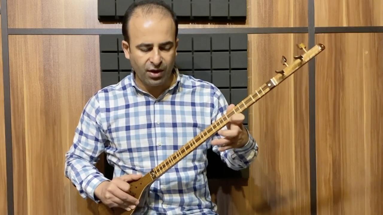 شهابی بیات ترک کتاب دوم آموزش جلال ذوالفنون نیما فریدونی سهتار