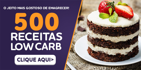 Ebook 500 Receitas Low Carb