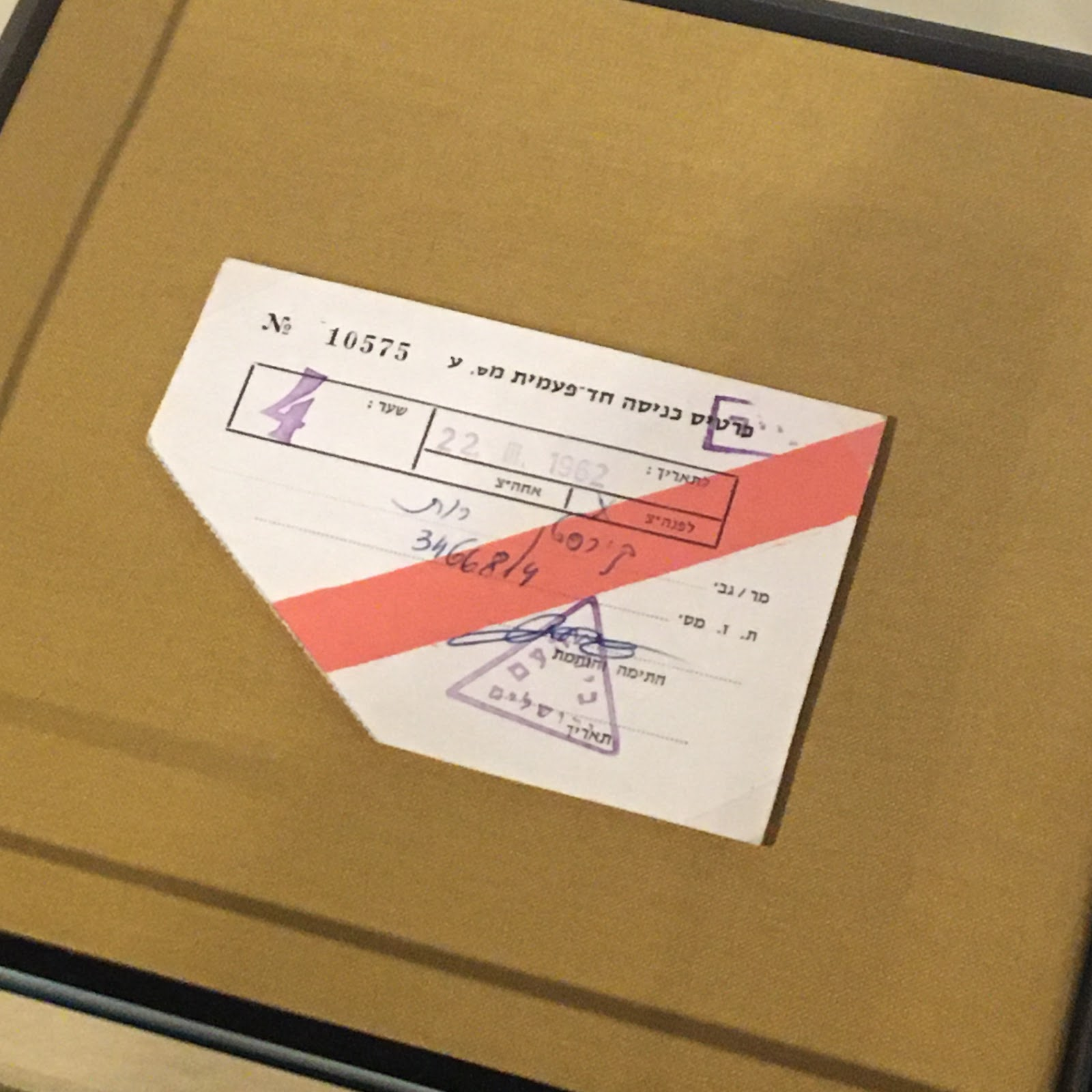 Deutsches Historisches Museum Hannah Arendt ticket to Eichmann trial