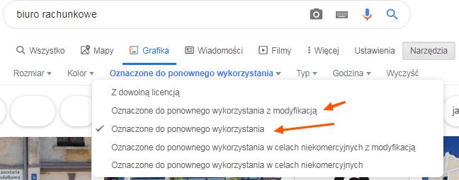 ustawienia zaawansowane wyszukiwarki google