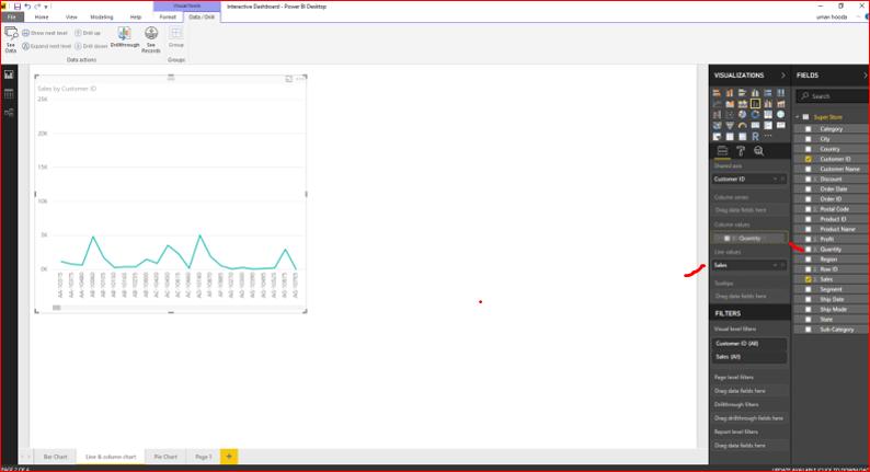 Interactive Dashboard In Microsoft Power BI 35