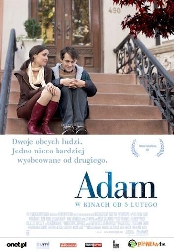 Przód ulotki filmu 'Adam'